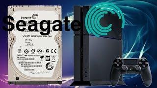 PS4 Festplatte wechseln - Seagate SSHD 1TB einbauen