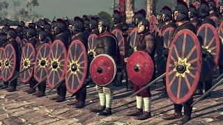 Старшие Геркулианы VS Избранники Годана Attila Total War