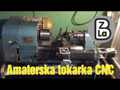 Amatorska tokarka CNC – zrób to sam! Jak przerobić starą tokarkę manualną na CNC