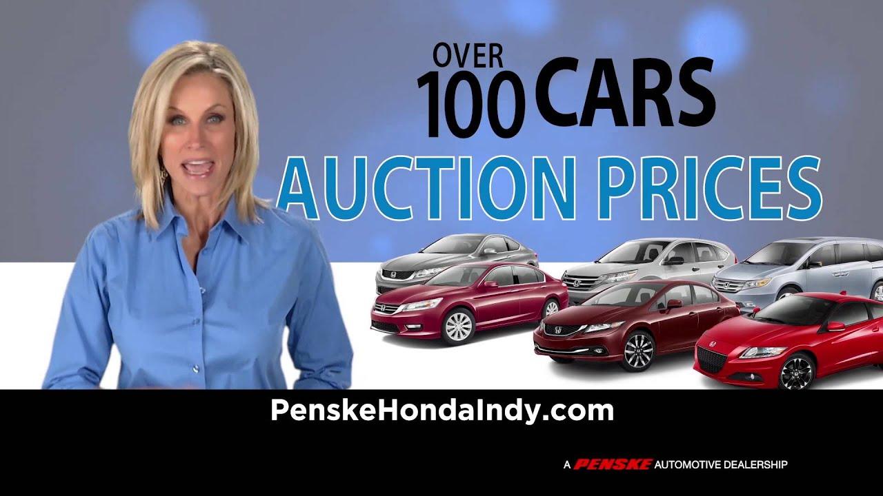 Penske Honda Special Youtube