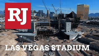 Raiders Stadium on Schedule For Completion, Safety Standards