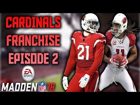 2018 OFFSEASON + NEW QB!! - Cardinals Connected Franchise Ep.2 - Madden 18
