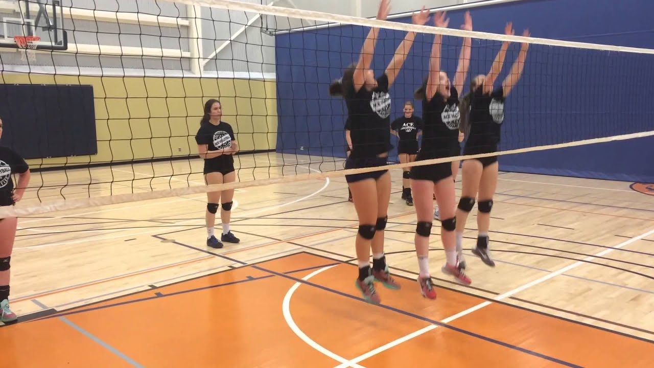 Volleyball single block