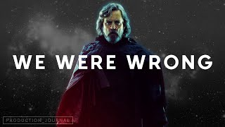 We were WRONG about The Last Jedi - Video Essay