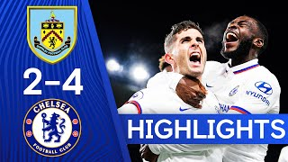 Burnley 2-4 Chelsea  Christian Pulisic Hits PERFECT Hat-Trick  Highlights