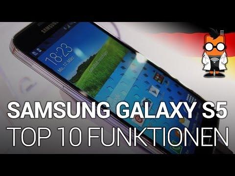 Samsung Galaxy S5: Top 10 Funktionen [DEU]