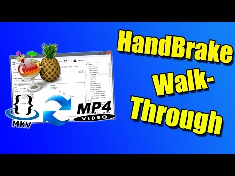 HandBrake Walk-through