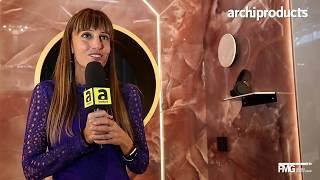 Cersaie 2018 | FMG e IRIS CERAMICA - Federica Minozzi presenta le nuove collezioni