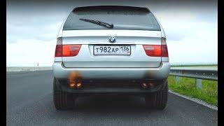BMW X5 с ВАЗ мотором. Валы, Лаунч, Антилаг и Замеры!