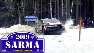 Rally Sarma 2019 (action, mistakes, maximum attack)