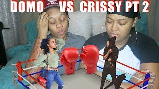 DOMO WILSON POP UP AT CRISSY'S HOUSE! CRISSY GOES OFF!!