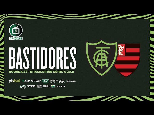 Bastidores - América 1x1 Flamengo-RJ | TV Coelho