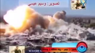 2015.10.13 - Сирия! Армия приминяет УР-77 «Змей Горыныч»