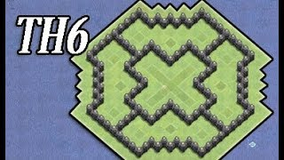 Best Town Hall 6 Defense ( TH6) BEST Farming Base Layout Strategy I Clash Of Clans (COC) NEW