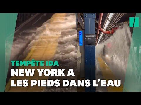 Download Tempête Ida: violentes inondations à New York où l'état d'urgence a été déclaré