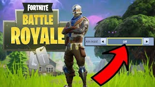 Desligado acidentalmente ASSIST AIM? | Lutas do Fortnite.