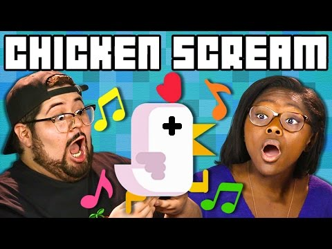 CHICKEN SCREAM GAME | Teens & College Kids Play Together! (React: Gaming)