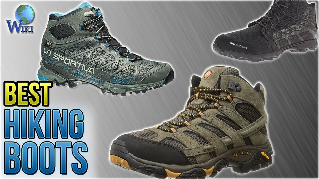 10 Best Hiking Boots 2018 - YouTube