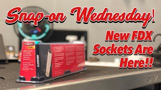 SNAP-ON WEDNESDAY - Check Out The New Flank Drive Sockets!