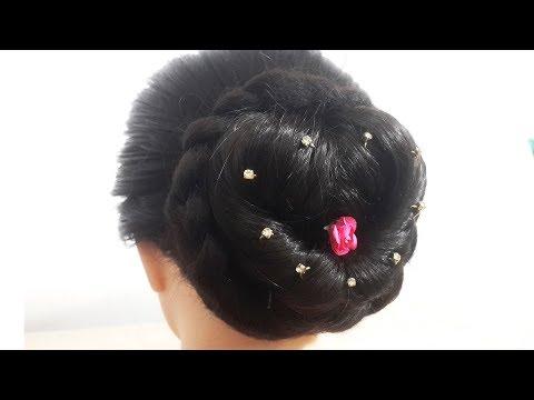 अब आपको पार्टी Hairstyle बनाने के लिए ब्यूटी पार्लर जाने की बिलकुल ज़रूरत नहीं | New Juda Hairstyle