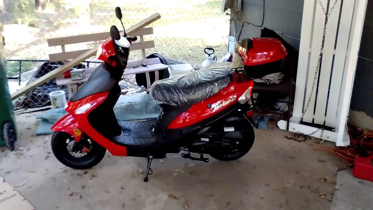 taotao vetas 50cc sporty scooter arc 3100 switch panel wiring diagram tao youtube