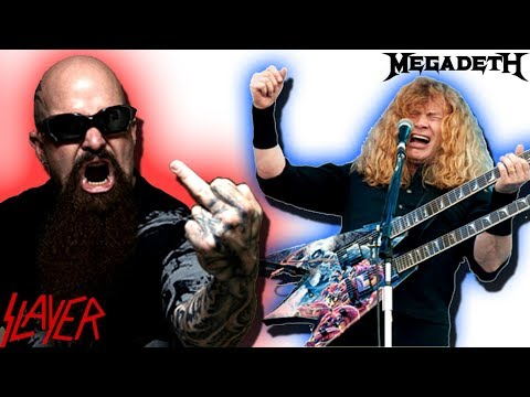 Kerry King: Dave Mustaine Is Crazy! I Don't Know How Anybody Can Be in Megadeth! | Slayer Guitarist