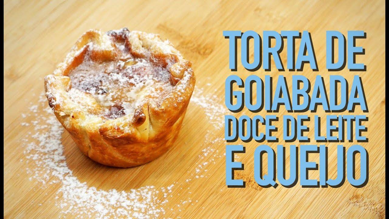 Resultado de imagem para imagens MINI TORTA DE GOIABADA COM DOCE DE LEITE E QUEIJO