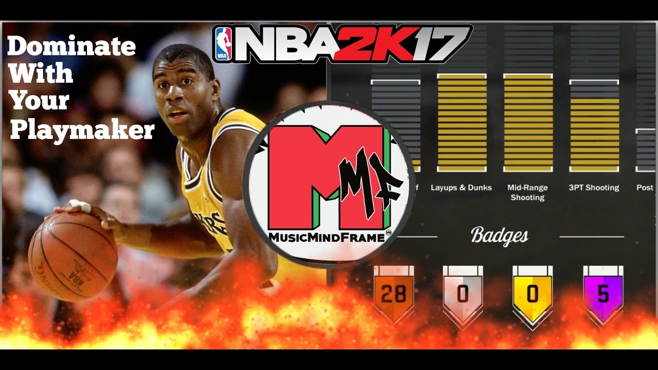 Nba 2k17 6 7 Playmaker Update Dominate With These Animations Dribble Moves Badges Youtube