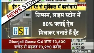Bricks manufacturer from fly ash unhappy with GST rates