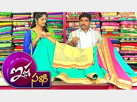 New Collection Of Raw Silk Half Sarees With Designer Blouses & Anarkali  Dresses || Ista Sakhi