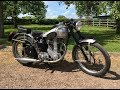 BSA ZB34 Gold Star 1950 500cc for Sale