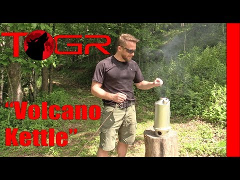 Eruption! - Ghillie Kettle 1L Stove - Review