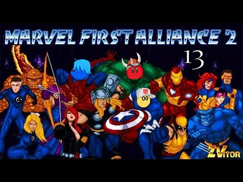 SNOWFLAME IS A COCAINE STAR! - Let's Play Marvel First Alliance 2 Part 13