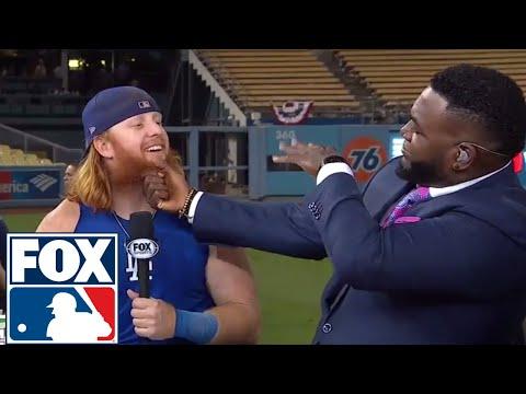 Justin Turner joins the FOX MLB Crew to talk World Series Game 1   2017 MLB Playoffs   FOX MLB