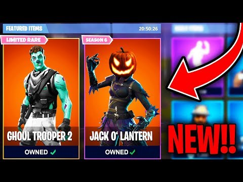 Top 5 Fortnite Halloween Skins WE NEED ADDED TO FORTNITE!