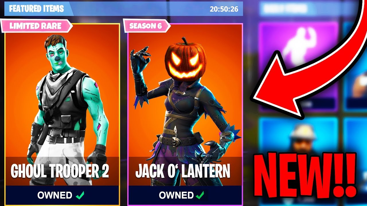 Top  Fortnite Halloween Skins We Need Added To Fortnite