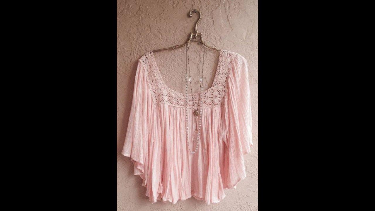блузки из шитья 7