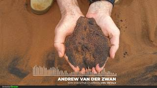 Investor Stream chats with: MRG Metals Non-Executive Chairman Andrew Van Der Zwan (December 3, 2019)