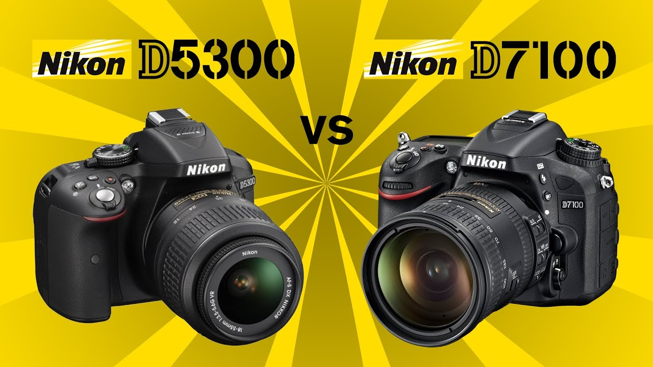 Nikon D5500 Vs D7200 >> Nikon D5300 vs Nikon D7100 - YouTube