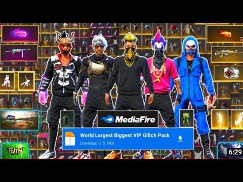 Free Fire VIP Glitch Pack ❗ No Password ❗ MediaFire Link ❗ Dataconfig❗