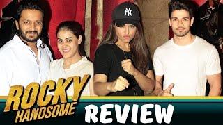 Rocky Handsome Movie Screening | Sooraj Pancholi, Ritesh Deshmukh