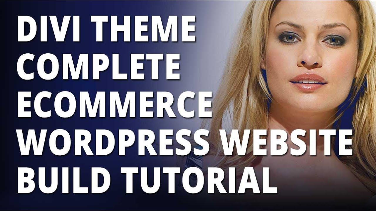 Wordpress tutorial for beginners | create an ecommerce website in.