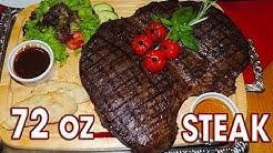 Porterhouse 72oz Steak Challenge in Germany!!