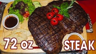 Porterhouse 72oz Steak Challenge in Germany!!