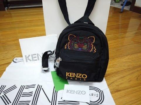 Kenzo Tiger Mini Backpack-Supercute I Couldnt Resist!