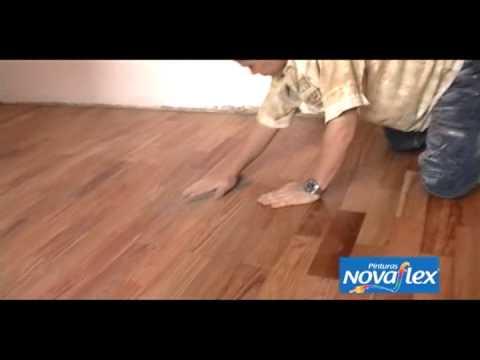 Aplicacion poliuretano para pisos de madera novaflex youtube for Pisos el encinar de los reyes