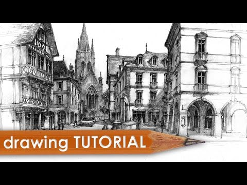 drawing-tutorial---street-&-architecture-in-perspective