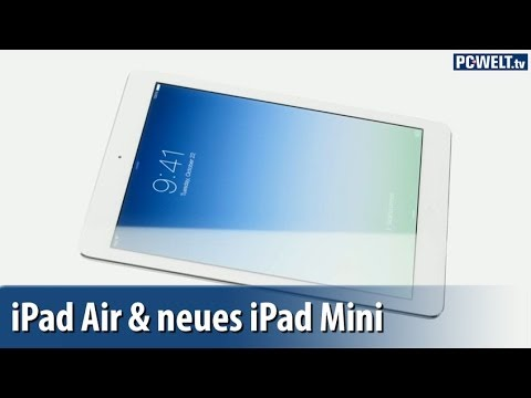 ipad air neues ipad mini highlights der apple pr sentation deutsch german youtube. Black Bedroom Furniture Sets. Home Design Ideas