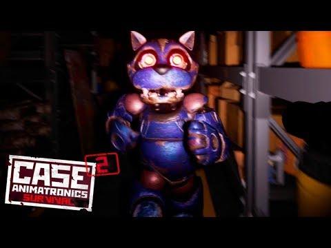 ►CASE 2: Animatronics Survival - Крутой хоррор! Прохождение с Енотом ♥ Добро пожаловать в нору | 18+