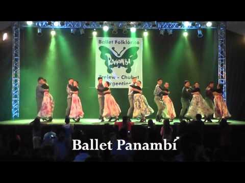 Ballet Folklórico PANAMBI- 15/08/2015
